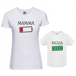 Coppia Magliette Mamma...