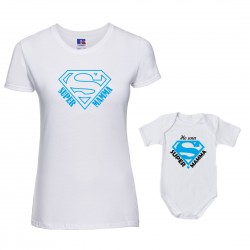 Coppia T-Shirt Body Mamma...