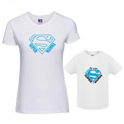Coppia T-shirt Mamma Figlio...