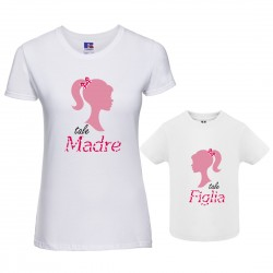 Coppia T-shirt Mamma Figlia...