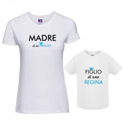 Coppia T-shirt Mamma Di Un...