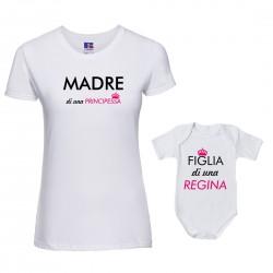 Coppia maglietta Body Madre...