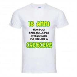 T-Shirt Uomo con stampa 18...