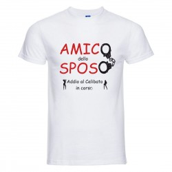 T-Shirt addio al celibato...