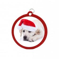 Palla natalizia rosso...