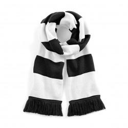 Sciarpa Stadium bianco nero