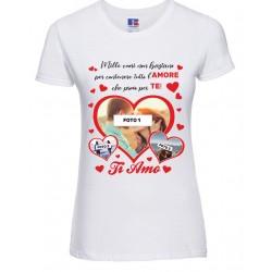 T-Shirt Donna san valentino...