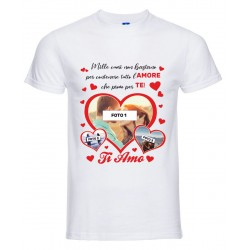 T-Shirt Uomo san valentino...