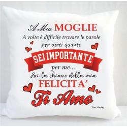 Cuscino san valentino...