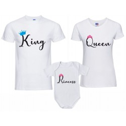 Coppia T-shirt Body bambina...