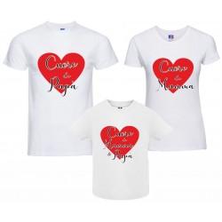 Tris T-shirt uomo donna...