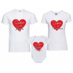 tris T-shirt Body tutina...