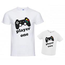 Coppia T-shirt padre figlio...
