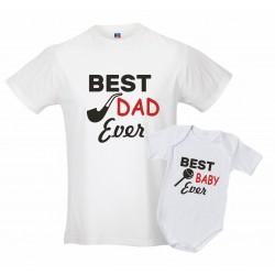 Coppia T-shirt padre body...