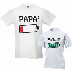 Coppia magliette padre...