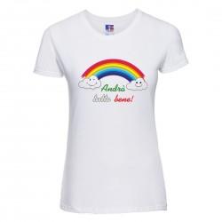 T-Shirt Donna Arcobaleno...