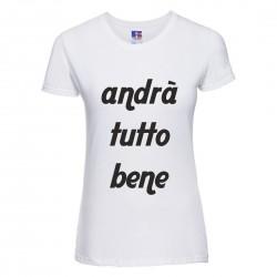 Maglietta Donna con scritta...