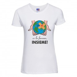 T-shirt Donna pandemia ce...