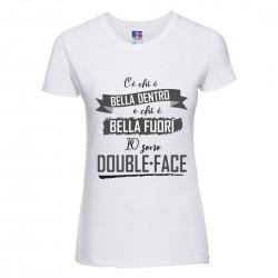 Maglietta T-shirt Donna C'è...