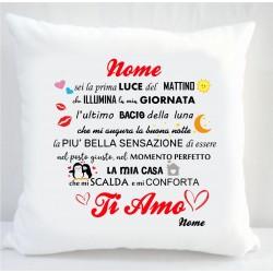 Cuscino Amore sei la prima...