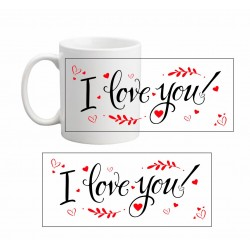 Tazza san valentino I LOVE YOU