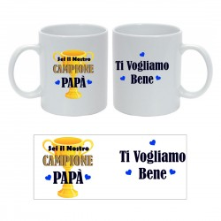 Tazza Personalizzata Papà...
