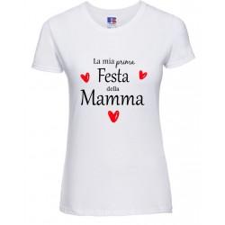 T-shirt donna La mia prima...