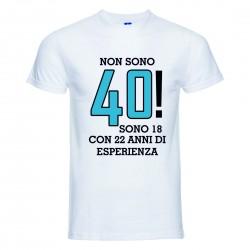 T-Shirt Uomo con Stampa 40...