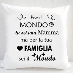 Cuscino Bianco con Stampa...