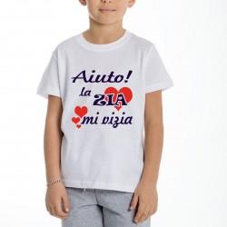 T-shirt bimbo bimba con...
